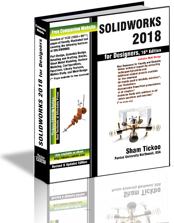 SOLIDWORKS 2018 textbook