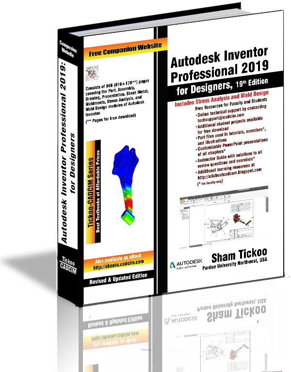 Inventor 2019 textbook