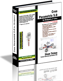 Creo Parametric 5.0 textbook