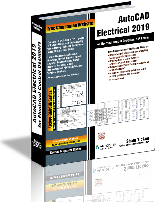 AutoCAD Electrical 2019 Textbook