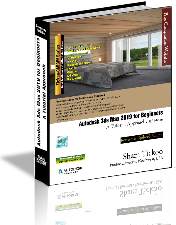 Autodesk 3ds Max 2019 for Beginners Textbook