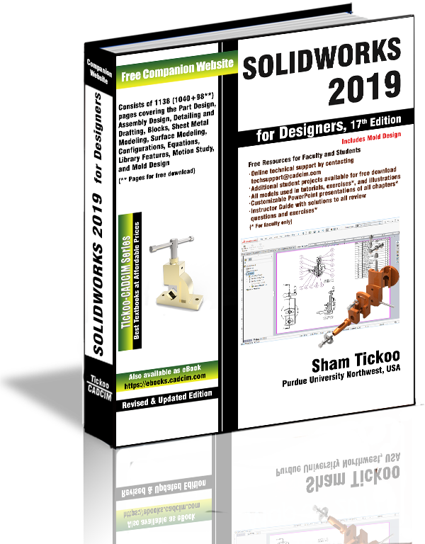 SOLIDWORKS 2019 for Designers Textbook