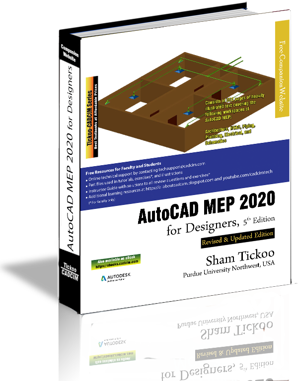 AutoCAD MEP 2020 textbook