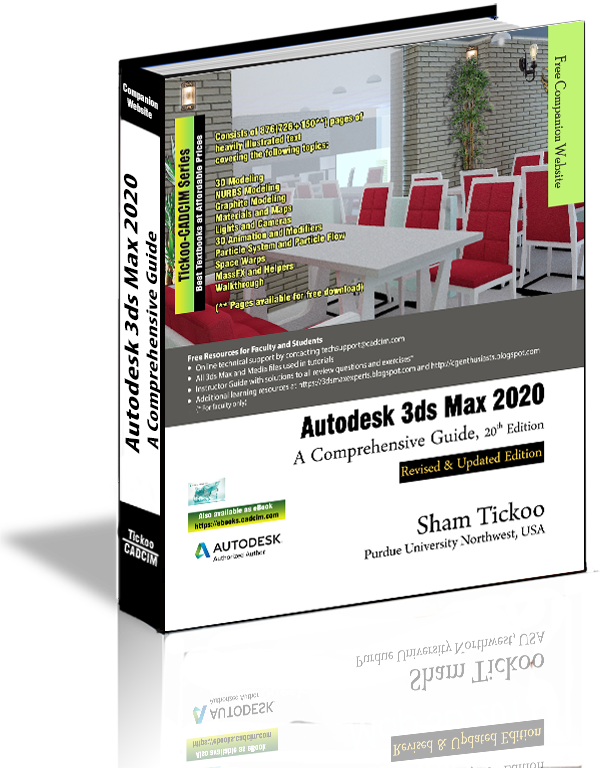 3ds Max 2020 book