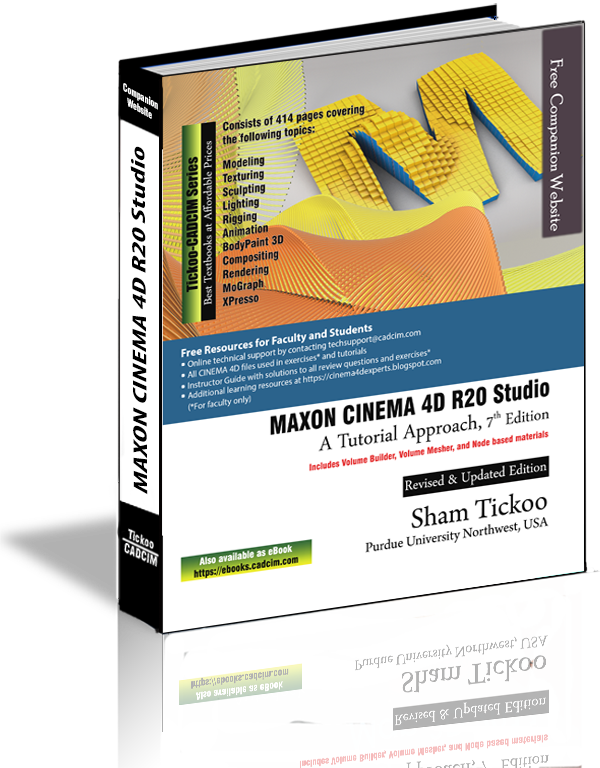 MAXON CINEMA 4D R20 Studio Book, 7th Edition
