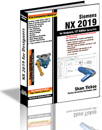NX 11 0 for Designers Book By Prof  Sham Tickoo and CADCIM