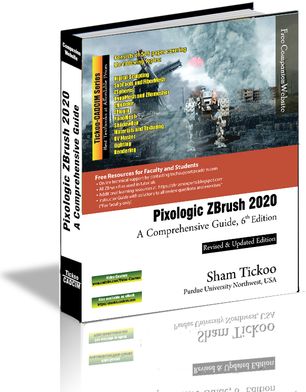Pixologic ZBrush 2020 textbook