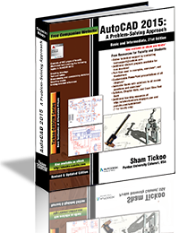 AutoCAD 2015: A Problem - Solving Approach, Basic and Intermediate