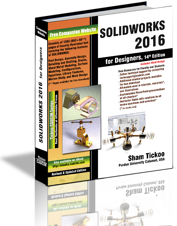 SOLIDWORKS 2016 Textbook