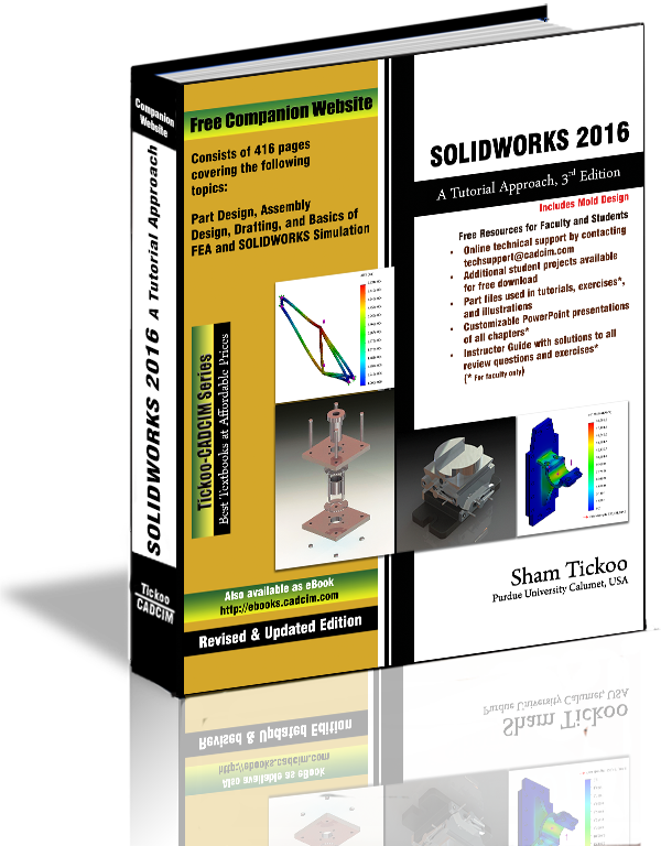 SOLIDWORKS 2016 TUTORIAL Textbook