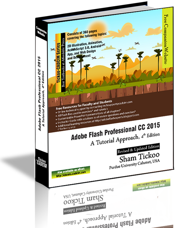 Flash Professional CC 2015 textbook