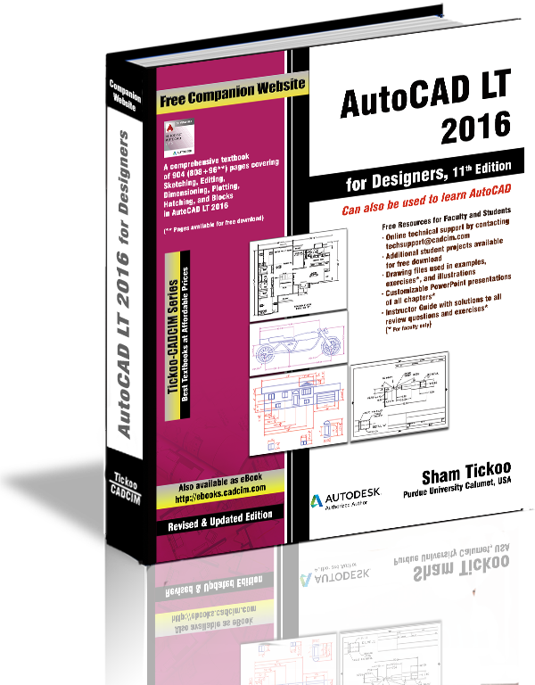 AutoCAD LT 2016 Textbook