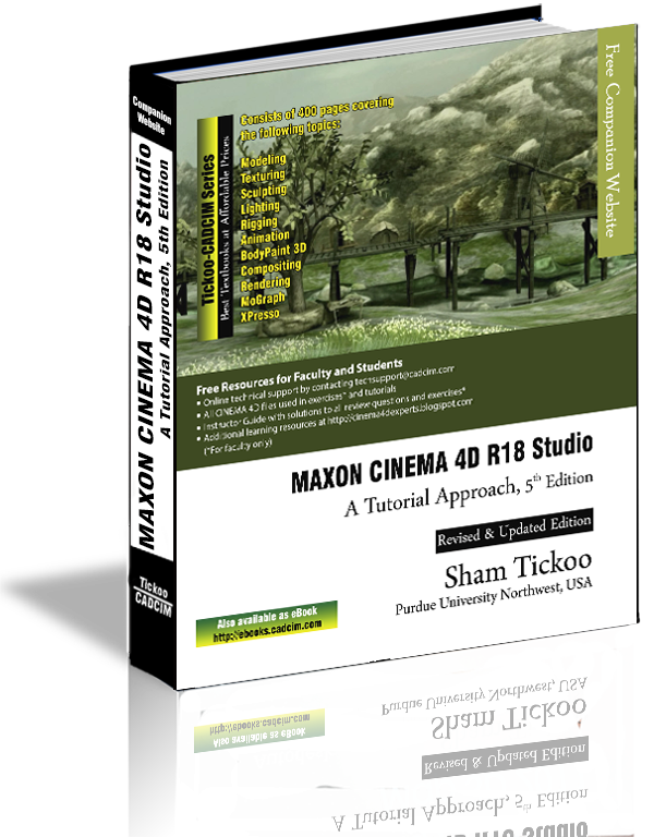 MAXON CINEMA 4D R18 Studio textbook